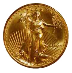 Goldmünze Gold Eagle